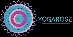 Logo Yogarose Mandala dessin 2